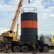 Сборный силос 160 тонн
