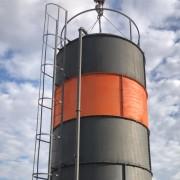 Сборный силос 140 тонн