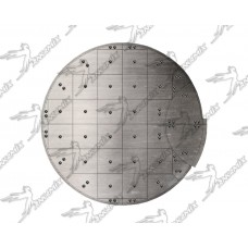 0318G0207F1 Комплект донной брони SICOMA MP 1500/1000